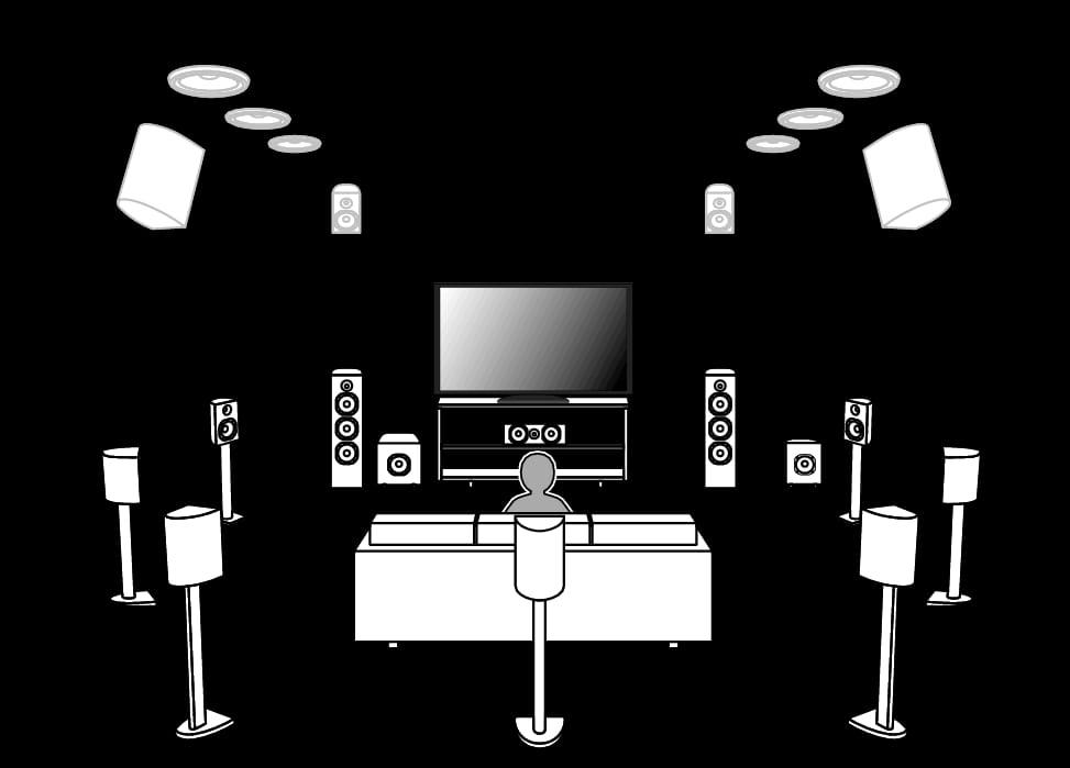 Home Movie Theater Diagram